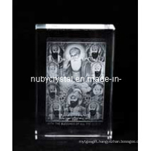 Ten Sikh Gurus Statues Engraved in Crystal for Sikhism Souvenir Gifts