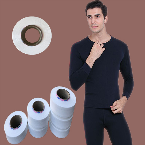 Thermal spandex for underwear