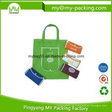 Saco não tecido portátil da dobra relativa à promoção do saco