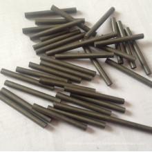Carboneto de tungstênio para pino não padronizado com diâmetro pequeno