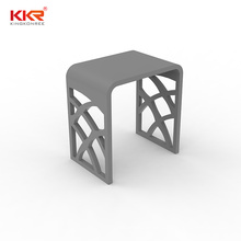 Bathroom Furniture Solid Surface Sanitary Ware Shower Stool