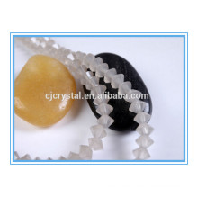 flying saucer glass beads high quality glass beads strand