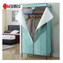 Epoxi recubierto 3 Tiers Metal Wardrobe Rack para muebles de dormitorio