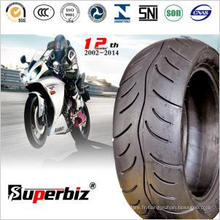 ISO a approuvé Scooter pneus Tubeless (130/60-10)