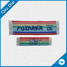 China Factory Custom Fabric Main Woven Label for Clothing