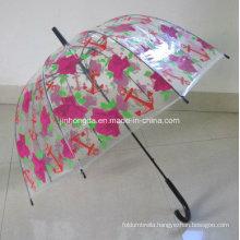 Rose Cover PVC Fabric Apollo Umbrella (YSN23)