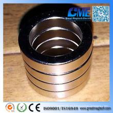 Imán redondo del anillo redondo F23X5X16mm de la tierra rara del neodimio N50