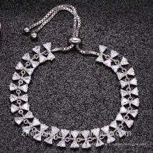 bracelet en or blanc mères jours bijoux cadeau