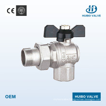 1/2′′-1′′inch Brass Male Ball Valve with Ce Certificate