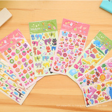 Стикеры пены выдвиженческих подарков стикера малыша милые тучные для детей, изготовленные на заказ стикеры пены малыша тучные