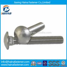 DIN603 Kohlenstoffstahl / Edelstahl Schwenkkopf Vierkantschraube Schraube Schraube, Schraube