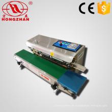 Direkte Fabrik Verkauf vertikale und horizontale Doppelnutzung kontinuierliche Band Sealer mit Datum Codierung für automatische Abdichtung