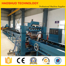 Máquina de fabricación de aletas de radiador de transformador automático