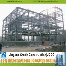 Talleres de estructura de acero ligero de varios pisos