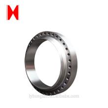 precision cast large metal spur gear