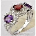 Ювелирные изделия кольца с Мистик Топаз и цвет камня (TR1222)