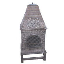Ferro fundido Chiminea (FSL039), forno de pizza de metal