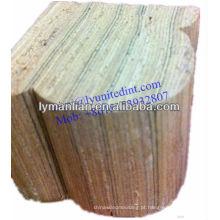 Corrimão de madeira de teca do Iraque