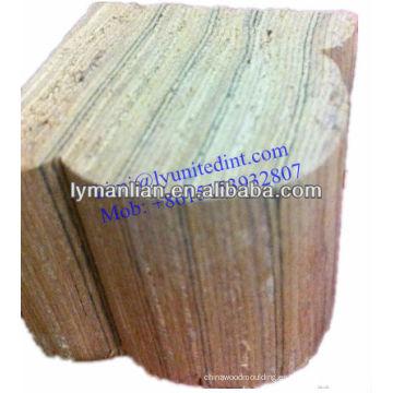 Barandilla de madera de teca de Irak