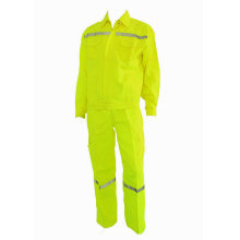 Top for Basic Cotton Work Suit Reflective Lightweight Workwear with Pants export to Palau Suppliers