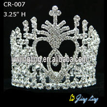Rhinestone Beauty Queen Crowns en venta