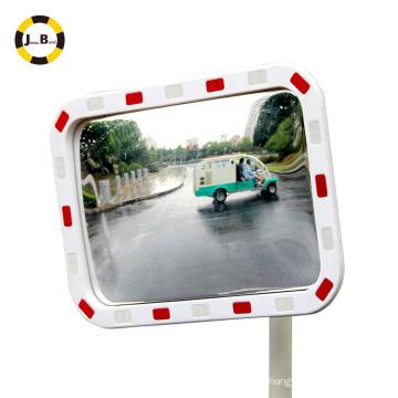 Espelho convexo refletivo elíptico eliminar os pontos cegos aviod acidente de trânsito alertar as pessoas
