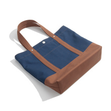 Standard Storlek Personlig Canvas Tote Shopping Bag