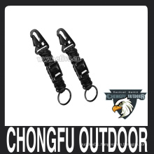 550 7 inner paracord keychain for camping hiking survival