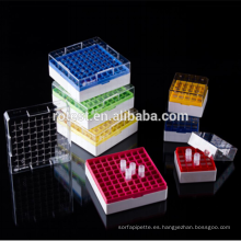 Caja criogénica / caja de congelación usada en tanque de nitrógeno líquido