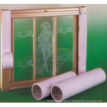 Rubans de protection en PVC pour fenêtre en aluminium