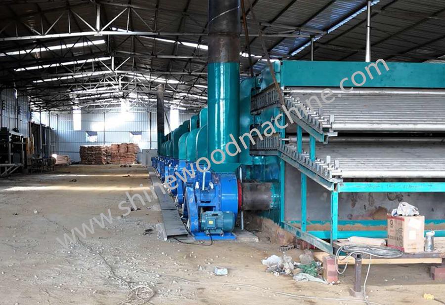 Plywood Veneer Drying Machines