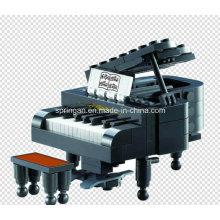 Music Series Designer Royal Piano 144PCS Blocks Toys