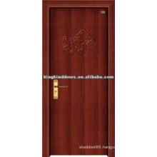 Simple Design /Flat PVC Door MDF Door with PVC Sheet Covered (JKD-8119) For Interior Dooe Design