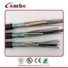 El 100% Fluck probó el cable óptico de la fibra de la alta calidad 1000ft Bulk 24 el calibrador 4 pares