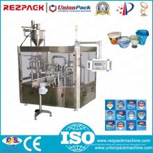 Rotary Plastic Triple Cup Füllung und Siegelmaschine (RZ-3R)
