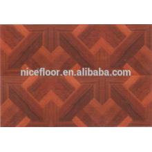 Parquet bonito piso de madeira projetado revestimento de madeira