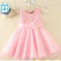 Rose enfants robes de soirée en gros prix commerce assurance usine enfants robes grossiste vêtements enfants parti collection