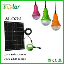 Tragbare neue solar-Produkte CE Solar Beleuchtung Solar LED Lampe Licht innen solar Nachtbeleuchtung mit Ladegerät