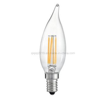 Bulbo claro do filamento do diodo emissor de luz de Ca32 3.5W Dimmable
