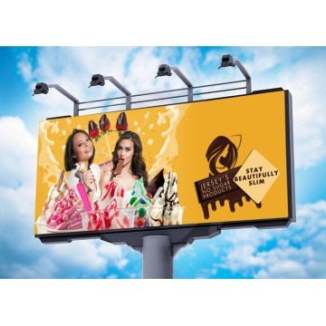 P8mm Full Color Fixed Outdoor Billboard Wyświetlacz LED
