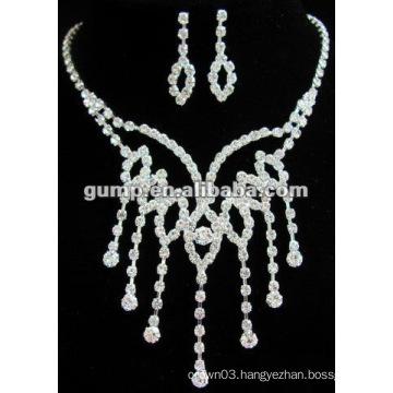 Latest bridal wedding jewelry set (GWJ12-434)