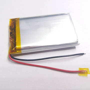 103759 bateria do dispositivo do semicondutor de 2400mAh 3.7V
