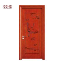 Американская деревянная дверь ручной работы из цельного дерева