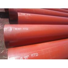 ASTM A106 carbono soldada, tubulação de aço ou tubulação de óleo quente laminados de alta pressão tubo API