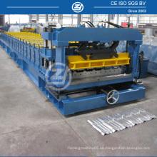 Máquina corrugadora de aluminio