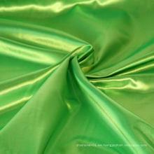 100% poliéster Decoración de tela de satén de buena calidad