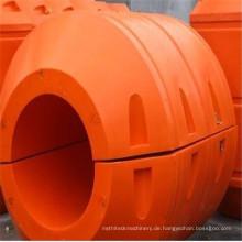 Dredging Rohr mit großem Durchmesser verwendet MDPE / HDPE Rohr Floater
