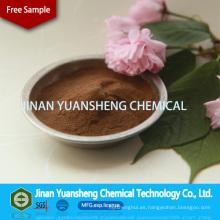 Lignosulfonato de sodio utilizado en la industria petrolera