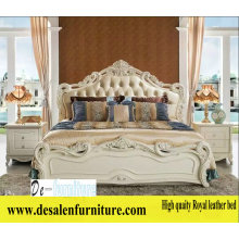 New Arrival Royal Bed, Leather Bed, French Style Bed, Europe Bed (L096)
