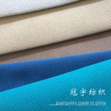 Velours côtelé super doux en tissu nylon pour la tapisserie d'ameublement à la maison